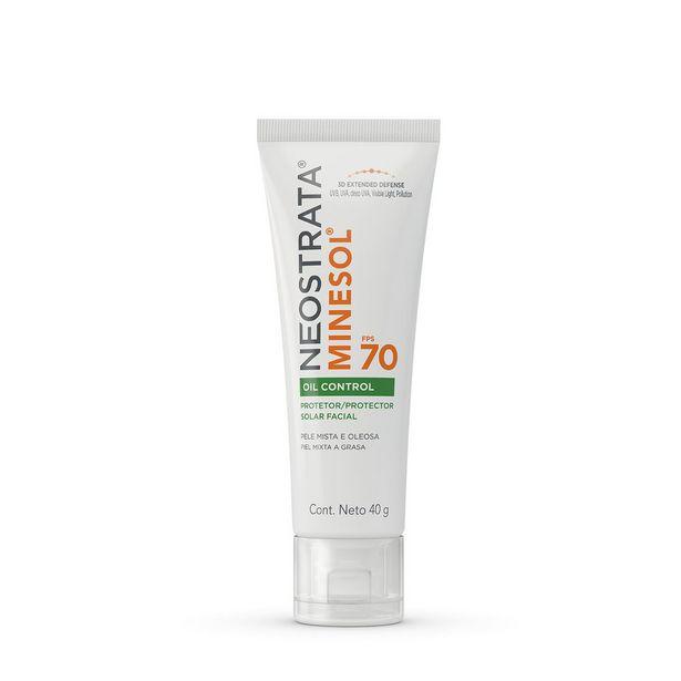 Oferta de Protetor Solar Facial Neostrata Minesol Oil Control Fps70 40g por R$53,94