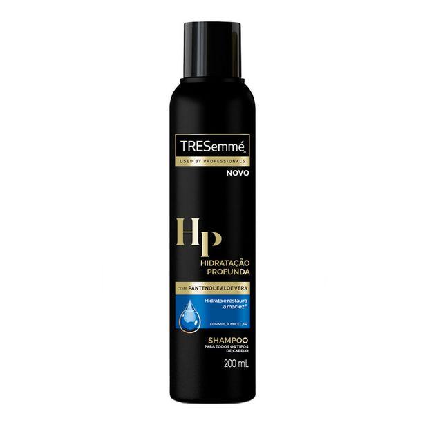 Oferta de Shampoo Tresemmé Hidratação Profunda 200ml por R$6,2