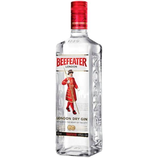 Oferta de Gin garrafa 750ml - Beefeater por R$77,57