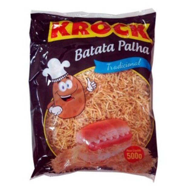 Oferta de Batata Palha pacote 500g - Krock por R$8,64