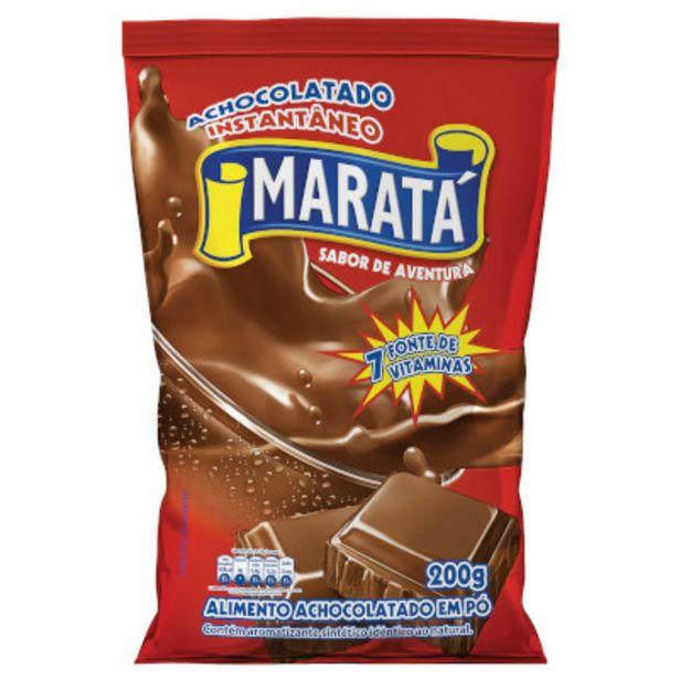 Oferta de Achocolatado em Pó pacote 200g - Maratá por R$1,95