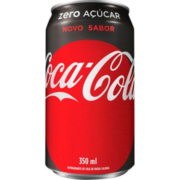 Oferta de Refrigerante Coca Cola zero lata 350ml - Coca Cola por R$2,13