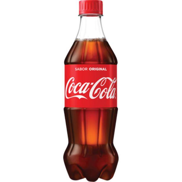 Oferta de Refrigerante Coca Cola pet 600ml - Coca Cola por R$3,74