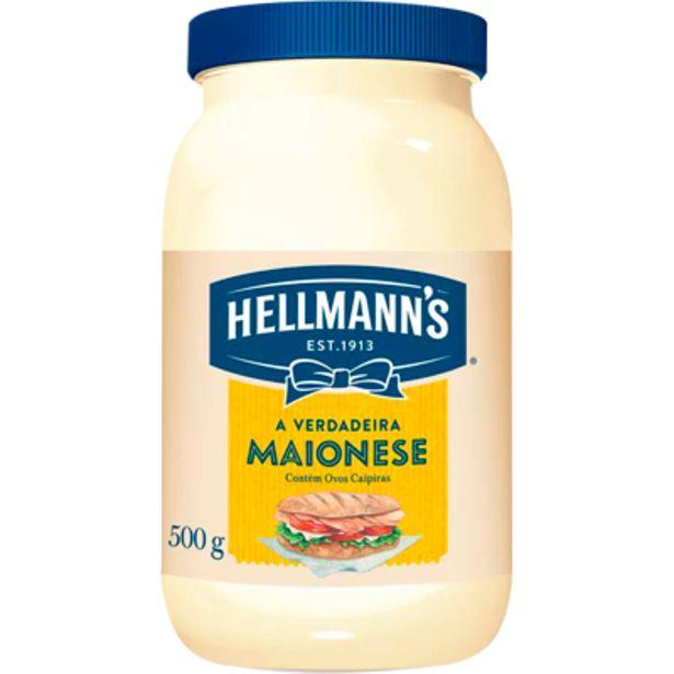Oferta de Maionese pote 500g - Hellmann's por R$5,49