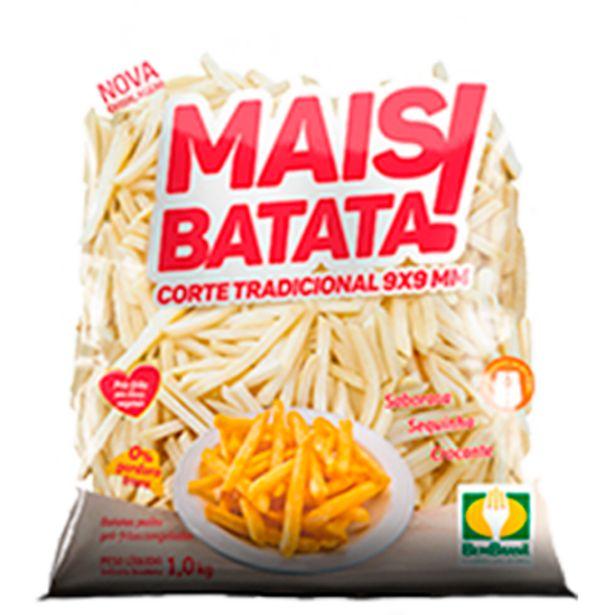 Oferta de Batata Palito tradicional 9x9mm congelada pacote 2kg - Bem Brasil/Mais Batata por R$14,9
