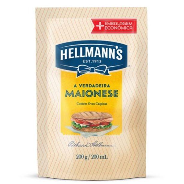 Oferta de Maionese sachê 200g - Hellmann's por R$2,58