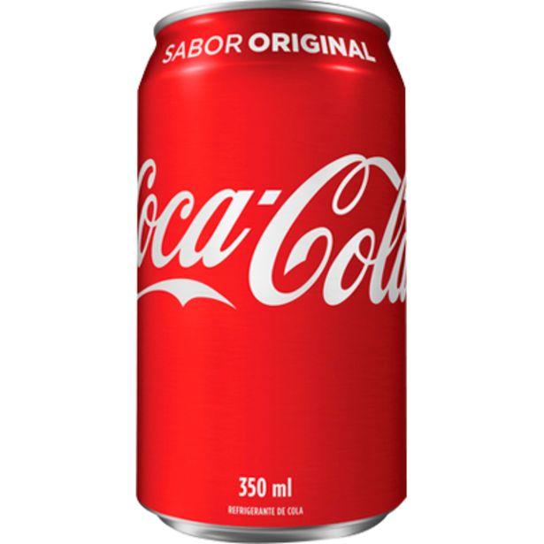 Oferta de Refrigerante Coca Cola lata 350ml - Coca Cola por R$1,85