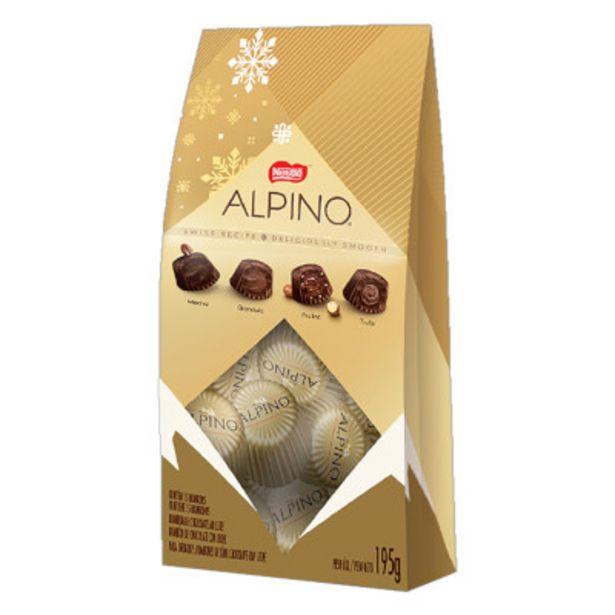 Oferta de Bombom chocolate caixa 195g - Nestlé/Alpino por R$12,72