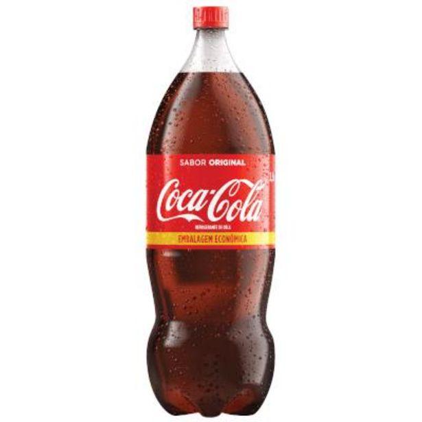 Oferta de Refrigerante pet 2,5Litros - Coca Cola por R$7,89