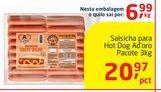 Oferta de Salsicha para Hot Dog A D´Oro por
