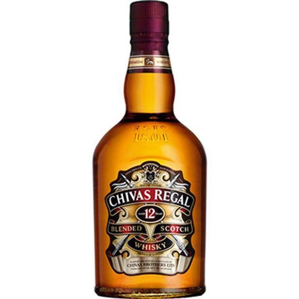 Oferta de Whisky Escocês 12 Anos Garrafa 1 Litro - Chivas Regal por R$139,9