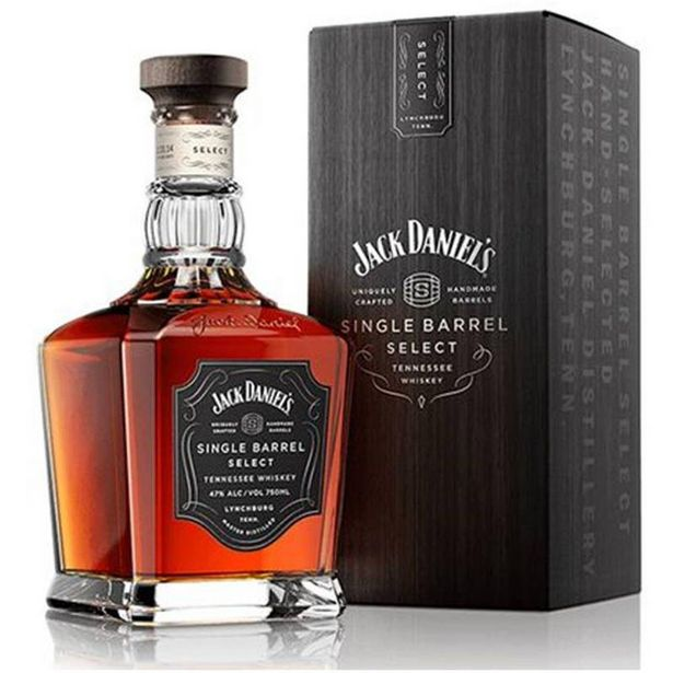 Oferta de Whisky Jack Daniel`s Single Barrel 750ml por R$299,9