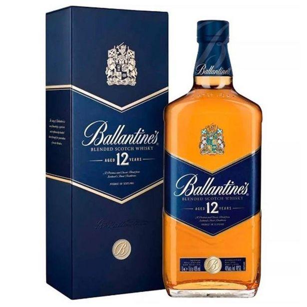 Oferta de Whisky Ballantines 12 Anos 1 Lt por R$149,9