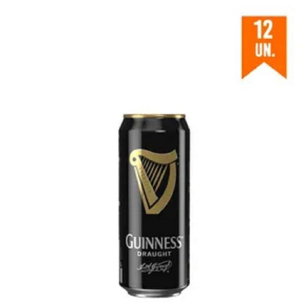 Oferta de Combo Cerveja Guinness Draught In Can 440ml - 12 Unidades por R$214,8