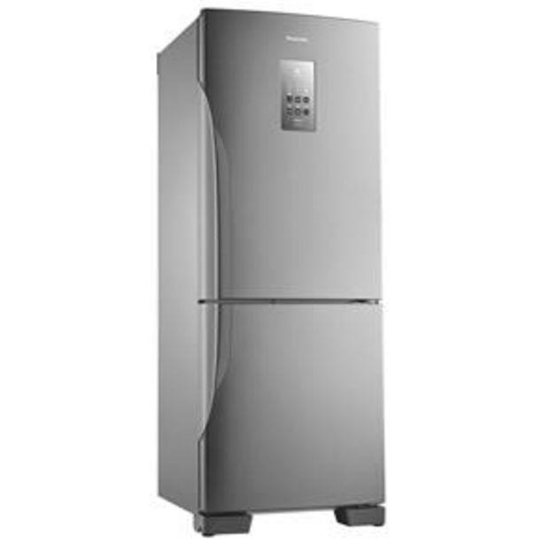 Oferta de Refrigerador Panasonic NR-BB53PV3X Frost Free c... por R$3799