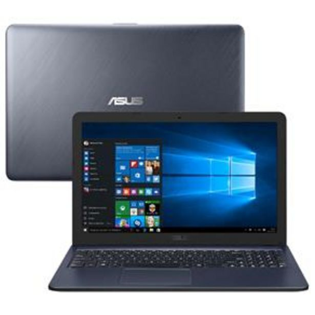 Oferta de Notebook Asus Core i3-6100U 4GB 256GB SSD Tela ... por R$2899