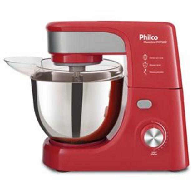 Oferta de Batedeira Planetária Philco PHP500 Turbo Inox c... por R$399,9
