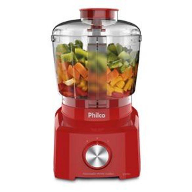 Oferta de Mini Processador de Alimentos Philco PH900 Turb... por R$129,99
