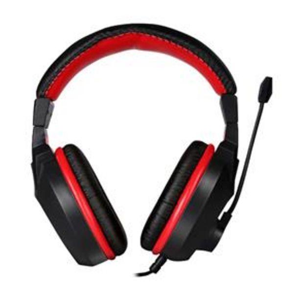 Oferta de Headset Gamer ELG Exodus - Vermelho por R$119,9