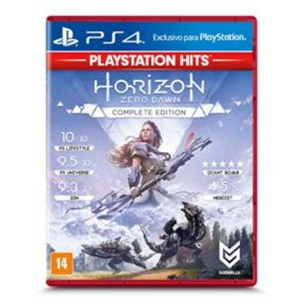 Oferta de Jogo Horizon Zero Dawn: Complete Edition - Play... por R$49