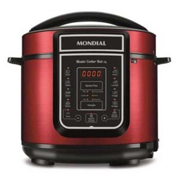 Oferta de Panela Elétrica de Pressão Mondial Master Cooke... por R$399,9