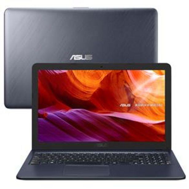 """Oferta de Notebook Asus Core i3-6100U 4GB 1TB Tela 15.6"""" ... por R$2799"""
