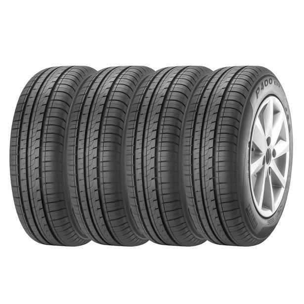 Oferta de Kit 4 Pneus Aro 14 185/65R14 Pirelli P400 EVO por R$1250,2