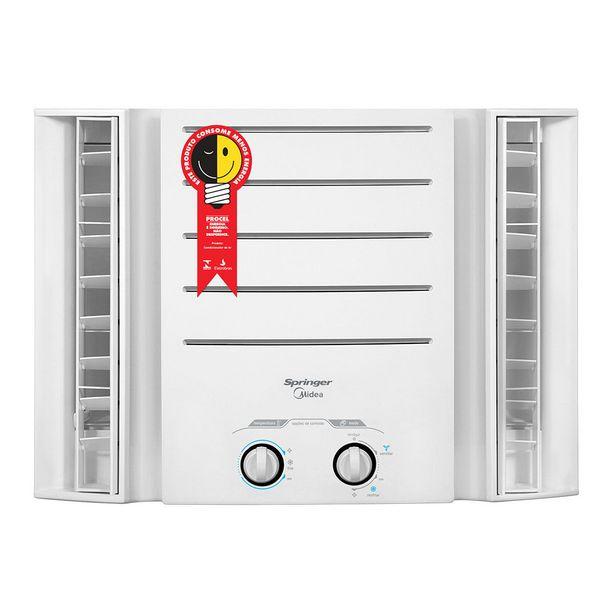 Oferta de Ar Condicionado de Janela Mecânico 7.500 BTUs Midea Springer Frio QCI075BB 220V por R$999