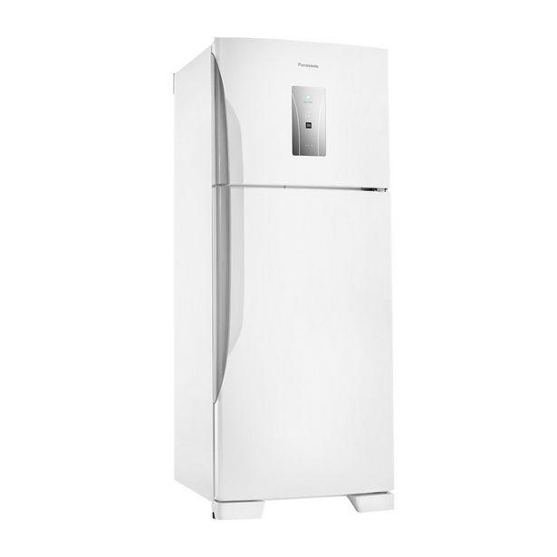 Oferta de Geladeira Panasonic Frost Free Duplex 2 Portas NR-BT50BD3WA 435 Litros Branca 110V por R$2599