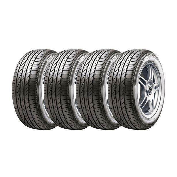 Oferta de Kit 4 Pneus Bridgestone Aro 15 185/60R15 Turanza Er300 por R$1633,05