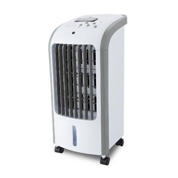 Oferta de Climatizador de Ar Britânia Frio 3 Velocidades Resfria, Umidifica e Ventila BCL01F Branco 110V por R$319,9