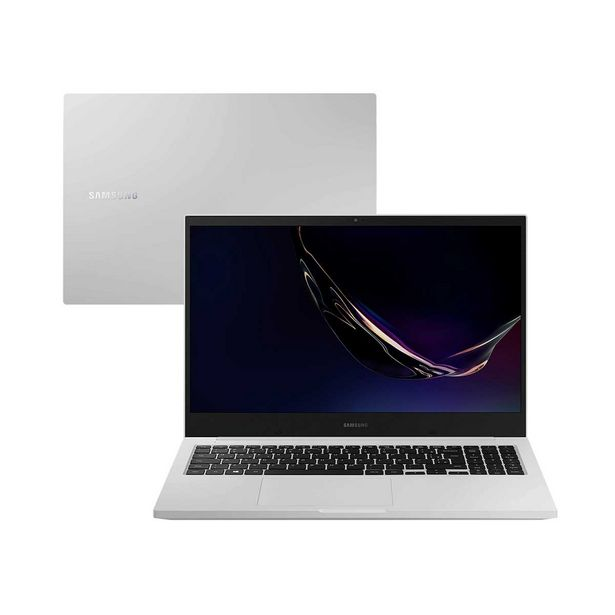 Oferta de Notebook Samsung Core i3 4GB 1TB Tela 15,6'' Full HD Windows 10 Book E30 NP550XDA-KT2BR Intel® Core™ i31115G4 por R$3099