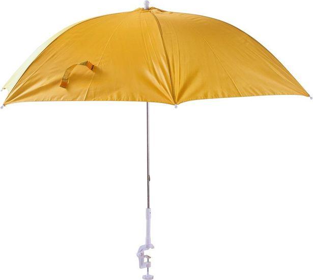 Oferta de Guarda Sol Clamp 1,16m P/ Cadeira Praia Verão Bel 15600 por R$39,9