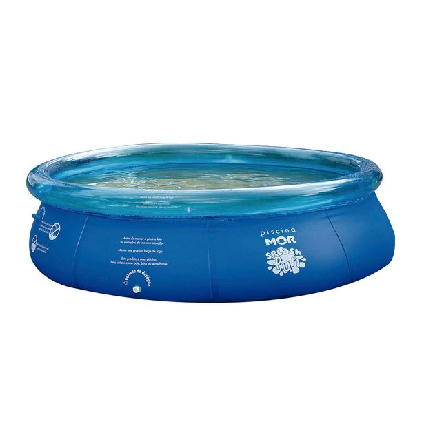 Oferta de Piscina Inflável Redonda em PVC Mor 3.400 Litros Splash Fun 1050 por R$314,9