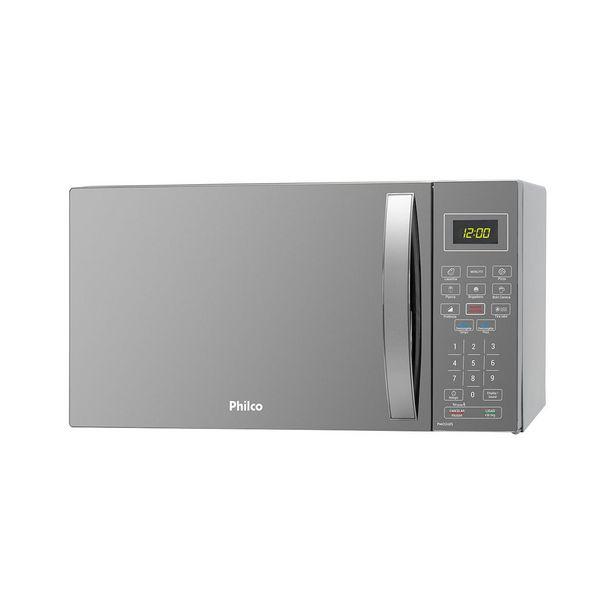 Oferta de Micro-ondas Philco PMO26ES 26 Litros Espelhado 220V por R$499