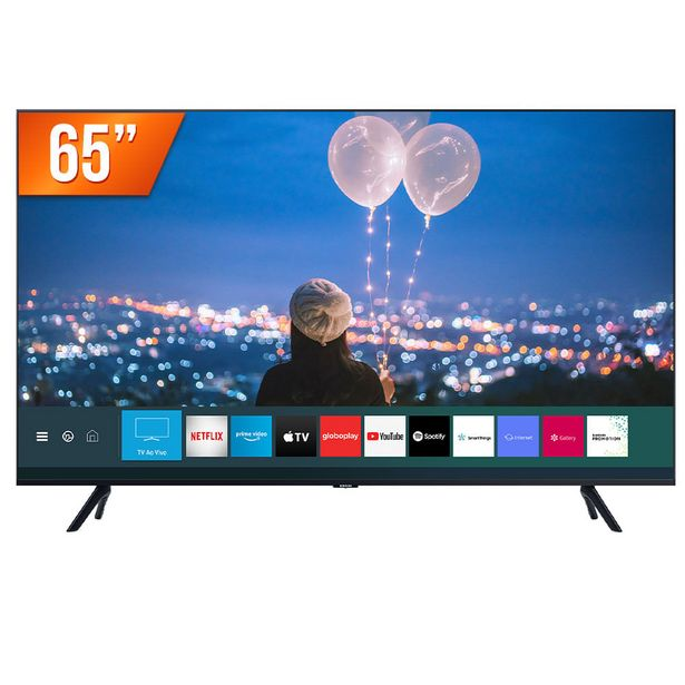 Oferta de Smart TV LED 65' Ultra HD 4K Samsung 65TU8000 Crystal 3 HDMI 2 USB por R$4899
