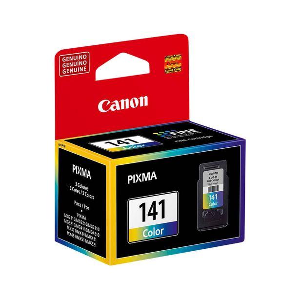 Oferta de Cartucho de Tinta Canon CL141 Colorido por R$112,01