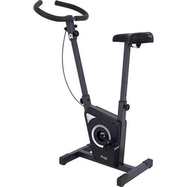 Oferta de Bicicleta Ergométrica Vertical EX 450 Dream Fitness Chumbo/Preta por R$337,79