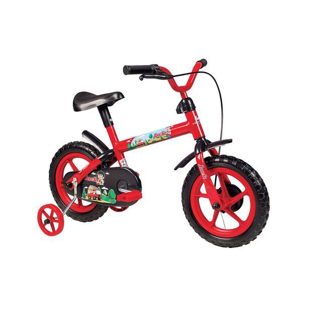 Oferta de Bicicleta Infantil Aro 12 Verden Bikes 10444 Jack Vermelha e Preta por R$169