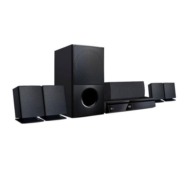 Oferta de Home Theater LG LHD625 Full HD Bluetooth 5.1 Canais Sound Sync Wireless 1000W por R$999