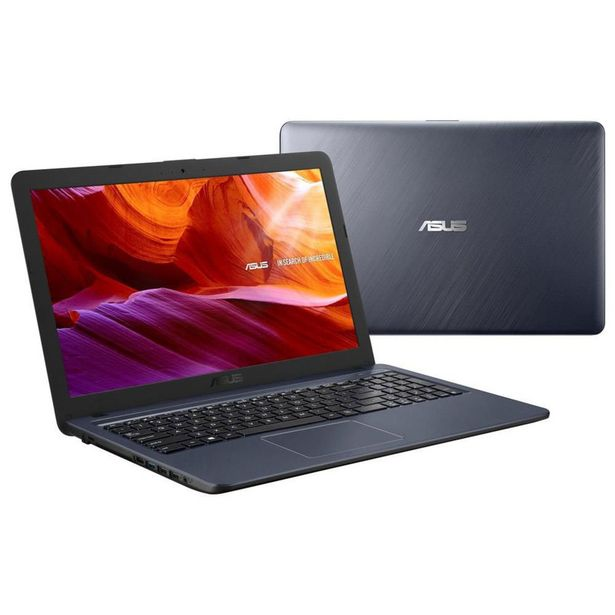 Oferta de Notebook Asus Cel Dual Core 4GB 500GB Windows 10 Tela 15.6 Polegadas X543MA-GO596T por R$2199