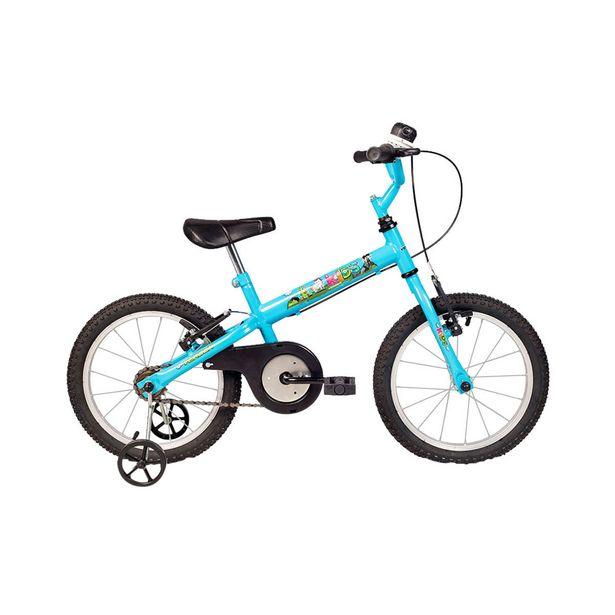 Oferta de Bicicleta Infantil Aro 16 Verden Kids Azul por R$539,9