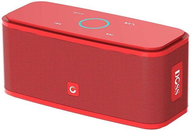 Oferta de Doss SoundBox Touch Caixas de Som Portáteis Sem Fio Com Som e Graves por R$322
