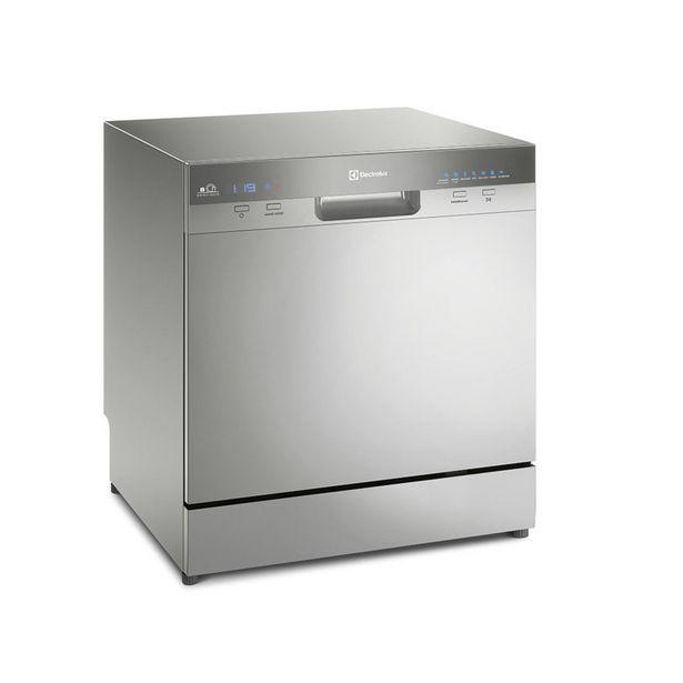 Oferta de Lava-Louças 8 Serviços Inox Electrolux (LL08S) 127V por R$2499