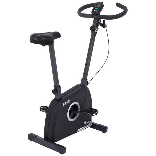 Oferta de Bicicleta Ergométrica Vertical Dream Fitness EX 500 Cinza/Preto por R$661,75