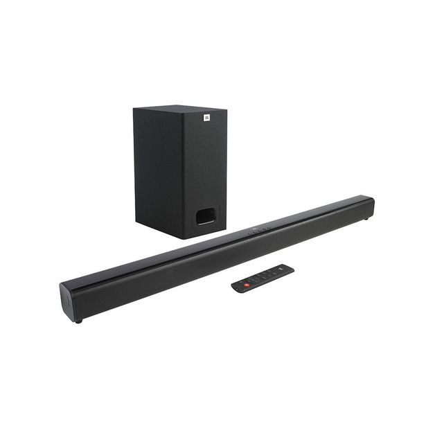 Oferta de Soundbar Bluetooth JBL SB130BLKBR 55W 2.0 HDMI por R$949
