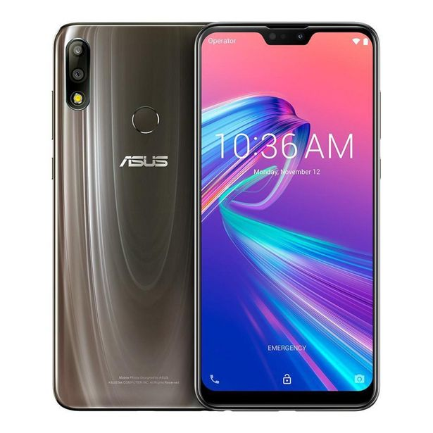 Oferta de Smartphone Asus ZB631 Zenfone MAX Pro M2 64GB Titanium por R$1359