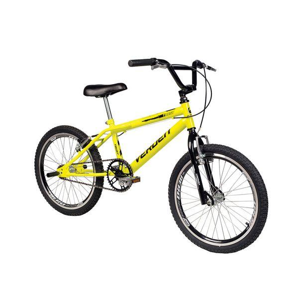 Oferta de Bicicleta Infantil Aro 20 Verden Trust Amarela por R$649