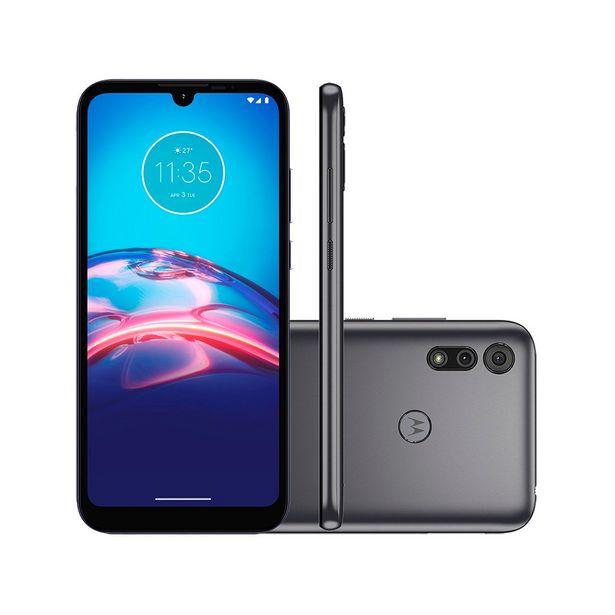 Oferta de Smartphone Motorola Moto E6S 32GB Cinza Titanium 4G Tela 6.1 Pol. Câmera Dupla 13MP Selfie 5MP Android 9.0 por R$969
