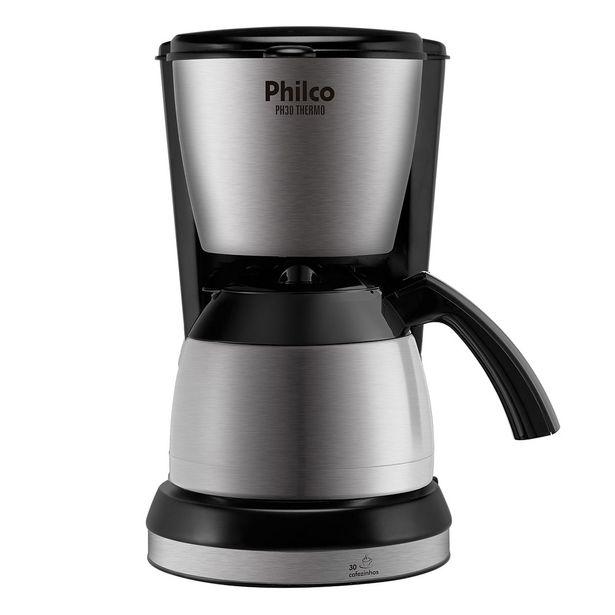 Oferta de Cafeteira Elétrica Philco Preto PH30 Thermo - 110V por R$239